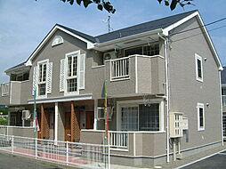 広島県福山市坪生町1丁目の賃貸アパートの外観