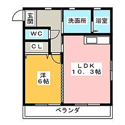ロングライフIII[2階]の間取り