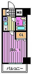 ライオンズプラザ西川口(303)[3階]の間取り