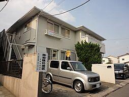 神奈川県茅ヶ崎市浜之郷の賃貸アパートの外観