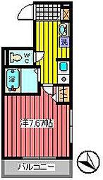 リベリエ浦和仲町[4階]の間取り