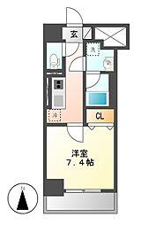 キャナルスクエア[3階]の間取り