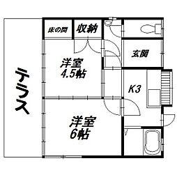 [一戸建] 静岡県浜松市東区丸塚町 の賃貸【/】の間取り