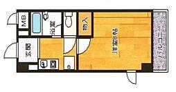 トーシンプリーマ貝塚[3階]の間取り