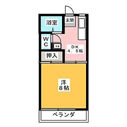 アーバンスペース[2階]の間取り