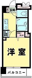 東京都豊島区高田1丁目の賃貸マンションの間取り