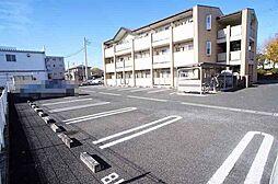 群馬県伊勢崎市昭和町の賃貸マンションの外観