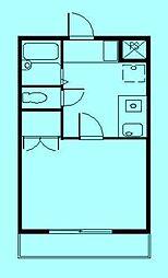 ラーチ鷺沼[2階]の間取り