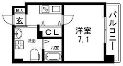 JP RESIDENCE 大阪城東II(ジェーピーレジデンス)[208号室号室]の間取り