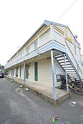 福岡県古賀市中央3丁目の賃貸アパートの外観