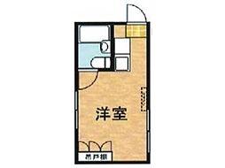 ドミー東高円寺[2階]の間取り