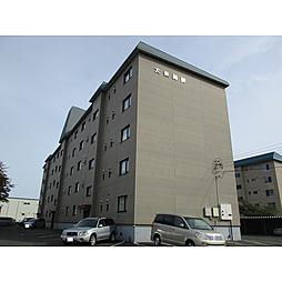 北海道苫小牧市日新町4丁目の賃貸マンションの外観