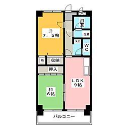 メゾン・ド・セピア[4階]の間取り