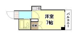 セクション22[3階]の間取り