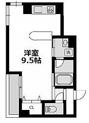 リバーコート[6階]の間取り