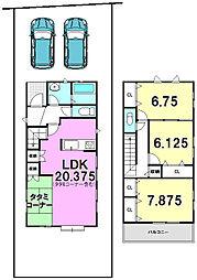天白区 中平 1号棟 ブルーミングガーデン 新築戸建