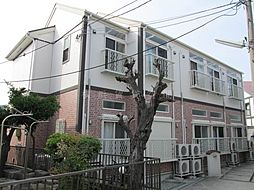 神奈川県横浜市中区豆口台の賃貸アパートの外観