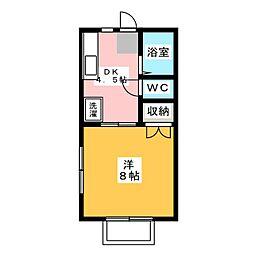 メゾン木下 D棟[2階]の間取り