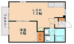 光1[1階]の間取り