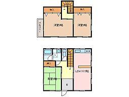 [一戸建] 三重県松阪市五反田町2丁目 の賃貸【/】の間取り