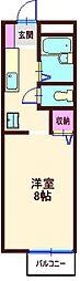 カームプレイス[1階]の間取り