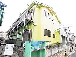東京都足立区谷中5の賃貸アパートの外観