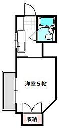 京阪本線 守口市駅 徒歩3分の賃貸マンション 4階1Kの間取り