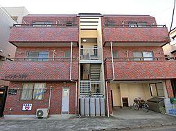埼玉県草加市草加3の賃貸マンションの外観