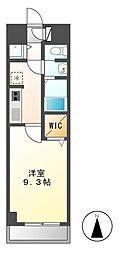 アビタシオンサクラ[4階]の間取り