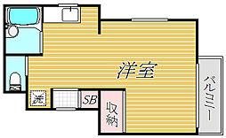 LYNK赤塚新町[3階]の間取り