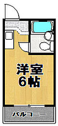 ファースト・アップ此花[5階]の間取り