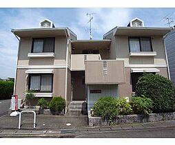 京都府向日市物集女町中海道の賃貸アパートの外観