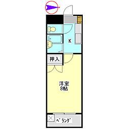 U・TOPIA 60[415号室]の間取り