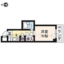 大藤マンション[4-A号室]の間取り