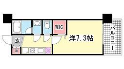 アーデンタワー神戸元町[9階]の間取り