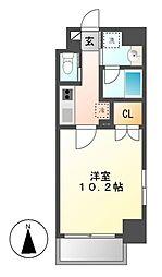 Plan Baim大須駅前[4階]の間取り