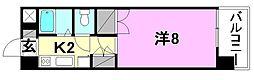 メゾン中村3[502 号室号室]の間取り