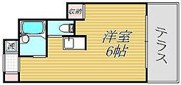 東京都板橋区板橋3丁目の賃貸アパートの間取り