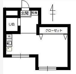 神奈川県川崎市多摩区枡形5丁目の賃貸マンションの間取り