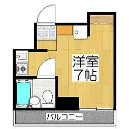 リエス東堀川[10階]の間取り