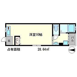 藤川ビル[4階]の間取り