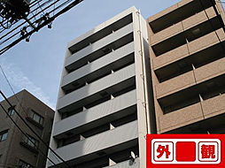 東京都北区田端1丁目の賃貸マンションの外観