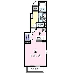グレ−スコ−ト A[0101号室]の間取り