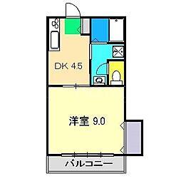 セントファーム II[3階]の間取り
