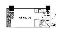ルネ御苑プラザ[3階]の間取り