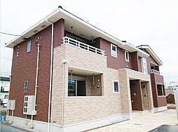 神奈川県平塚市桜ケ丘の賃貸アパートの外観