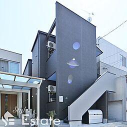 愛知県名古屋市守山区八剣2丁目の賃貸アパートの外観