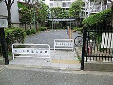 周辺環境:用賀三丁目公園