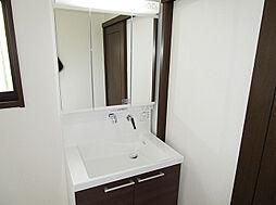 「三面鏡洗面台」新品