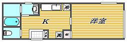 コンポジット東十条[1階]の間取り